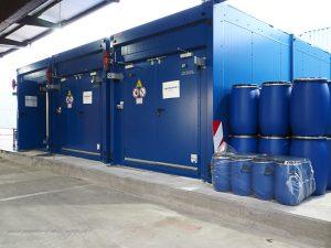 Schadstoffcontainer - Wertstoffhof Böblingen Hulb